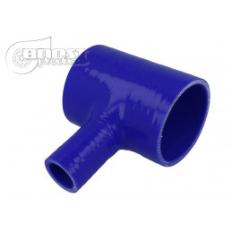 T silicone 63mm / 25mm / bleu