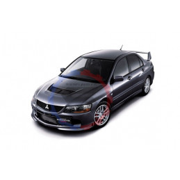 Silent bloc renforcé Mitsubishi evolution 9 powerflex