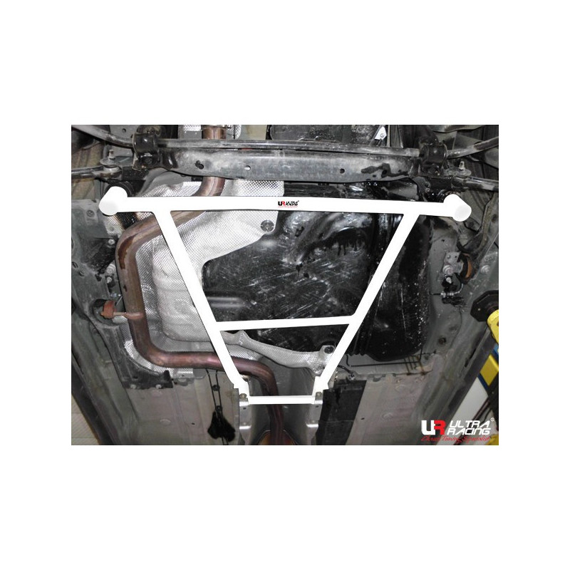 Volvo S80 10-14 Ultra Racing 4-Points Support inférieur arrière