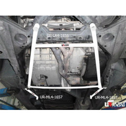 Mercedes A-Class 97-05 A160 Ultra Racing 4-Points Barre inférieure centrale