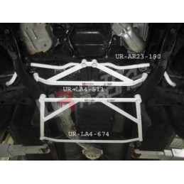 Subaru Forester SG5/SG9 03-08 Ultra Racing Barre inférieure centrale Mid