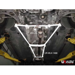 VW Tiguan 07-12 2WD/4WD Ultra Racing 4-Points Barre centrale inférieure 1468