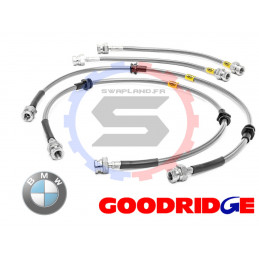 Durite aviation Goodridge pour BMW 2002 + Ti + Tii 1969-1975