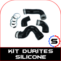 Kit durites d'air eau silicone