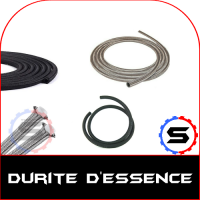 Durite essence renforcée en Inox