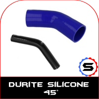 Coude silicone 45°